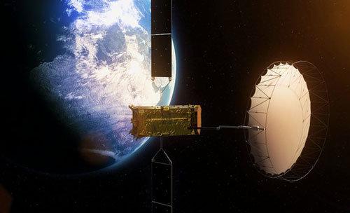 Alphasat đã vào vị trí