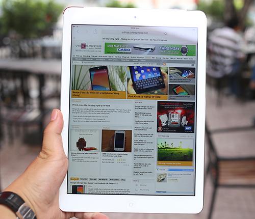 Hình ảnh thực tế iPad Air phiên bản 4G tại Việt Nam
