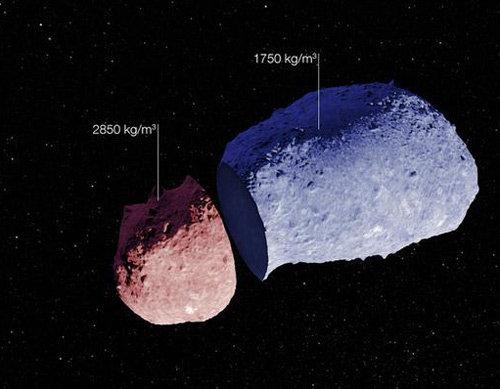 Giải phẫu tiểu hành tinh NASA