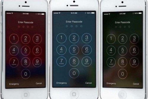 Khóa màn hình trên iOS 7 có thể bị hack