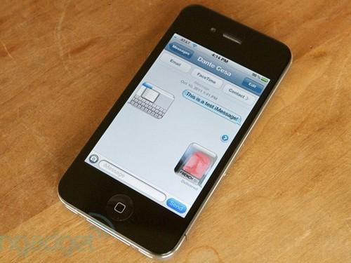 Apple đã khắc phục được lỗi iMessage trên iOS 7