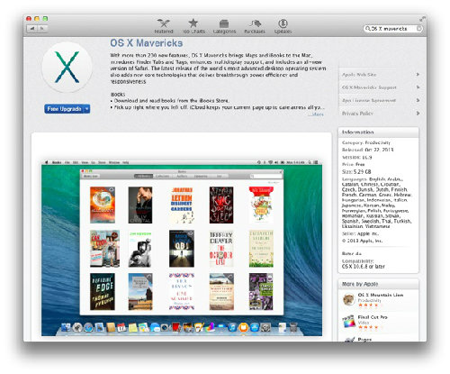Những lỗi hay gặp khi nâng cấp OS X Mavericks