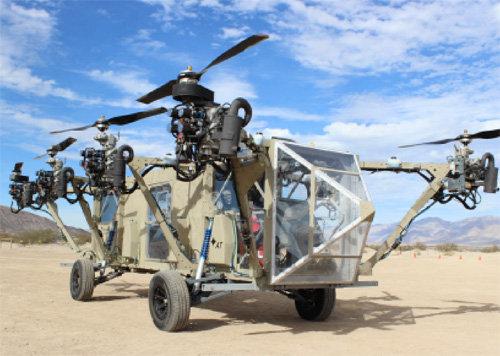 Xe tải bay như trong phim