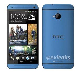 Xuất hiện hình ảnh HTC One màu xanh dương