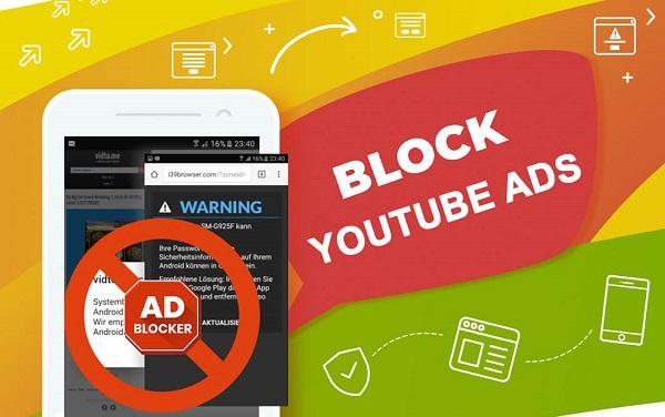 Cách chặn quảng cáo Youtube