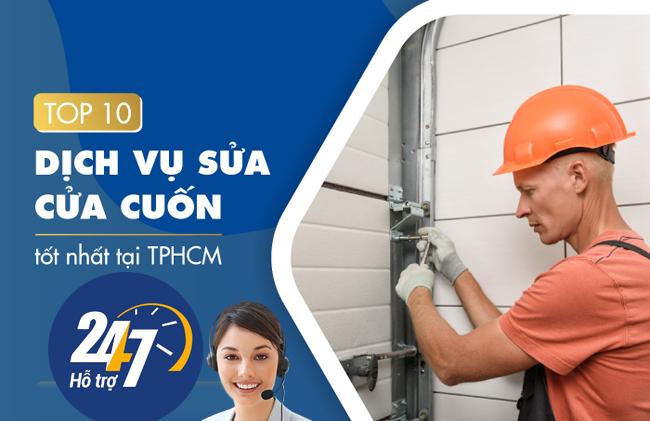 Công ty sửa cửa cuốn TPHCM