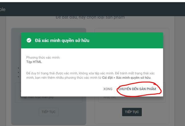 Hướng dẫn cài đặt google webmaster