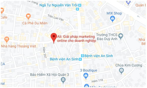 Xem chi đường google map