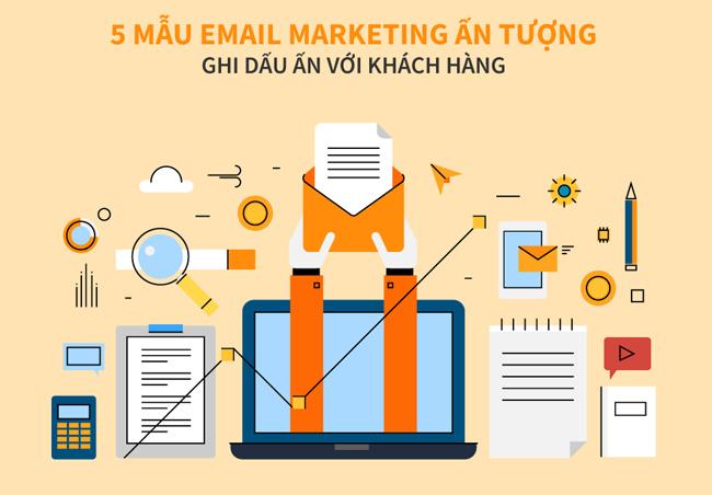 Mẫu email marketing giới thiệu sản phẩm