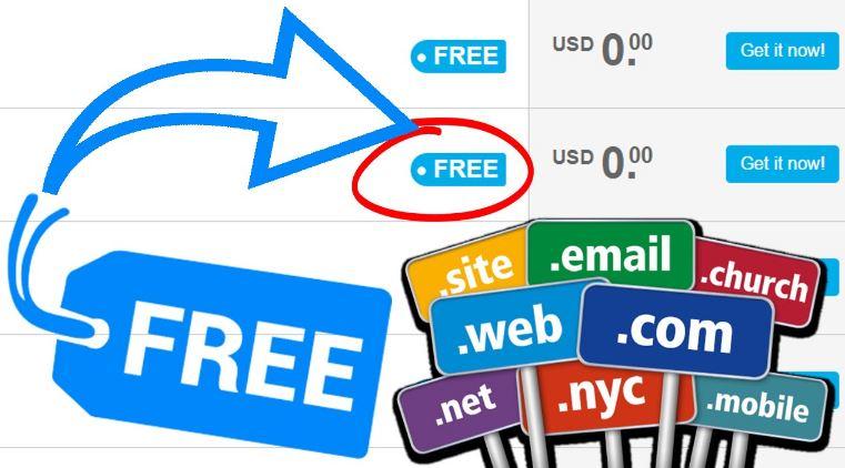 Tên miền miễn phí cho blog