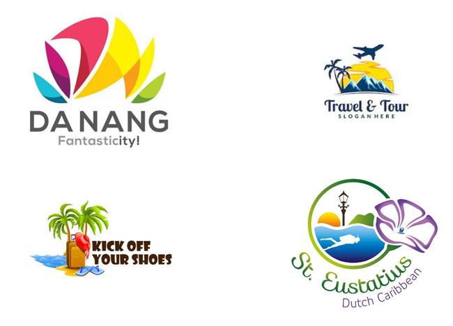 Thiết kế logo công ty du lịch