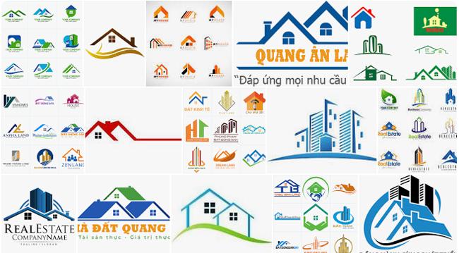 Thiết kế logo nhà đất