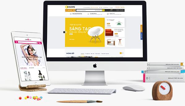 Thiết kế trang web bán hàng online