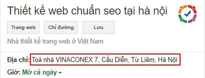 Xem chi đường thiết kế web chuẩn seo tại Hà Nội