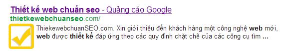 Hiển thị hình ảnh trên kết quả tìm kiếm google