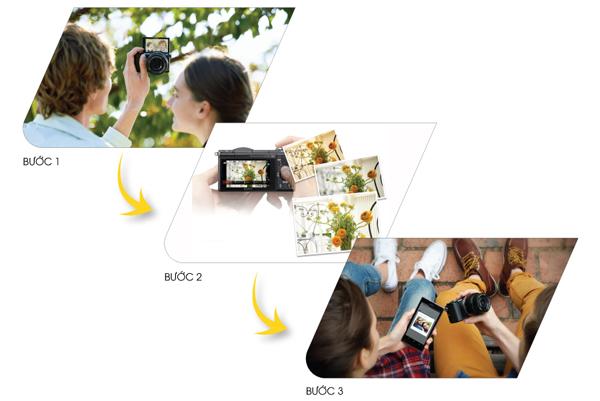 Alpha 5000 Máy ảnh cho tín đồ của selfie