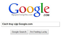 Cách truy cập vào Google.com