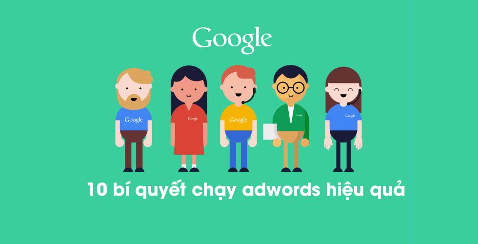 Chạy google adword hiệu quả Thủ thuật chạy google adwords