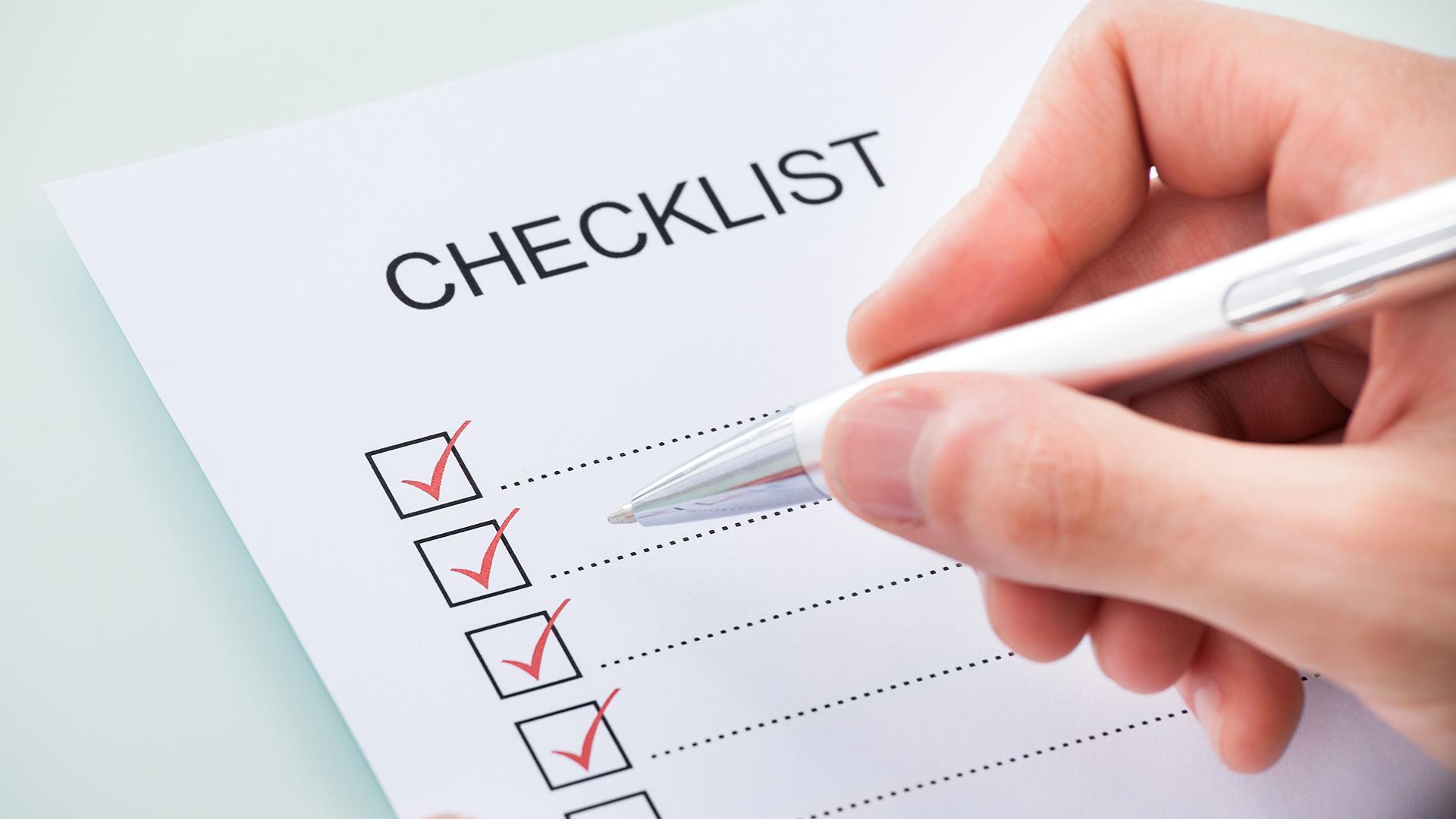 Checklist gợi ý cách khắc phục rớt hạng SEO