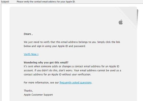 Đích ngắm người dùng Apple của tin tặc