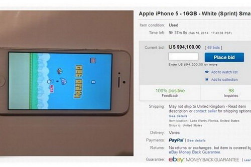 eBay gỡ bỏ tất cả tin rao bán iPhone có cài Flappy Bird