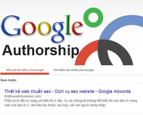 Google Authorship là gì?