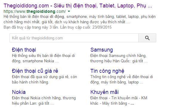 Google Search Box là gì?