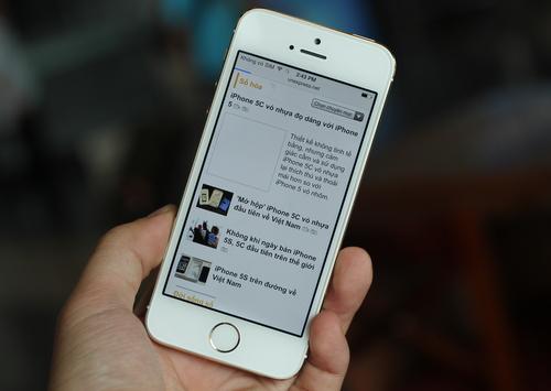 iPhone 5S đầu tiên về Việt Nam giá hơn 20 triệu đồng