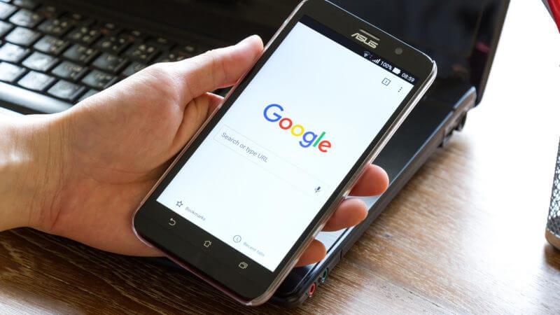 Kết quả tìm kiếm Google trên di động