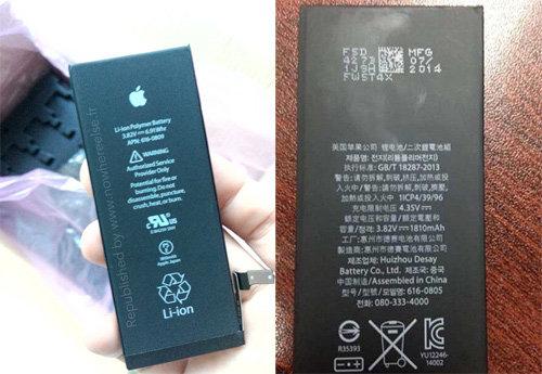 IPhone 6 lộ diện hình ảnh pin