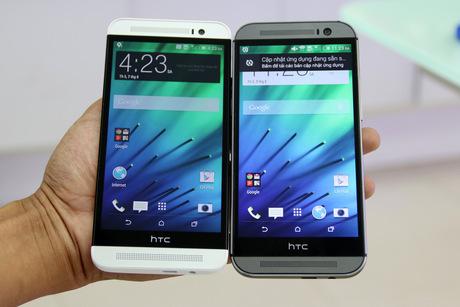HTC One E8 bản sao vỏ nhựa của M8 mở hộp