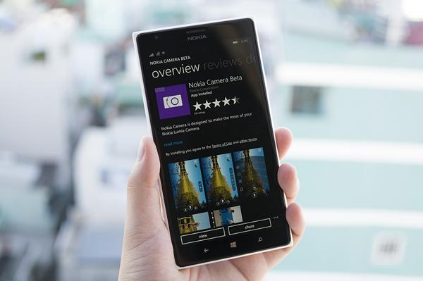 Nokia Camera Beta trên Windows Phone có cập nhật với nhiều tính năng mới