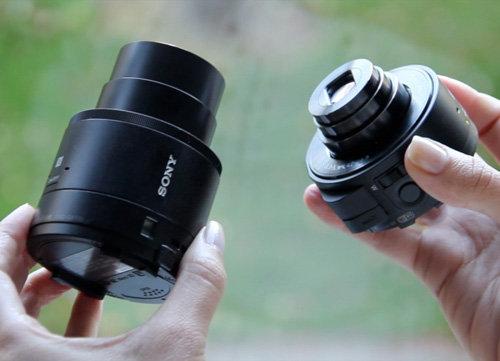 Sony sắp được cải tiến Ống kính QX10 và QX100