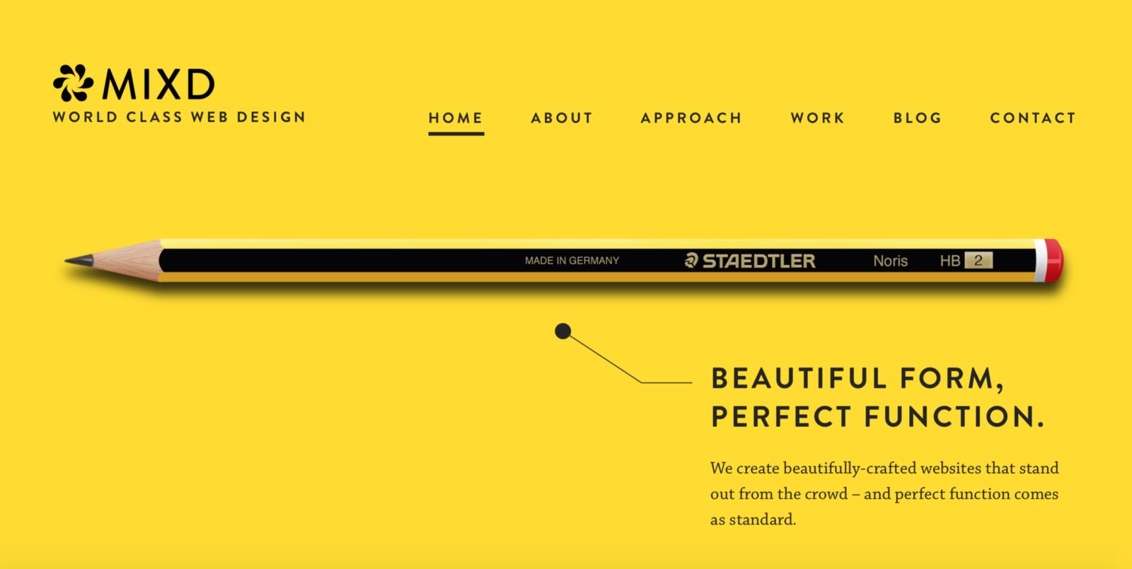 Thiết kế web hiện đại