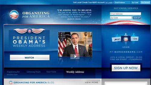 Tranh cử tổng thống bằng Email Marketing