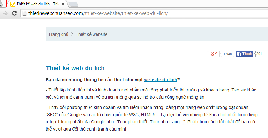 URL có quan trọng trong SEO link url là gì
