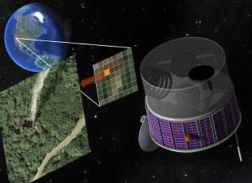 Mỹ thiết kế vệ tinh phát hiện cháy rừng