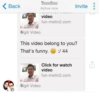 Cảnh báo Virus lừa đảo trên Facebook Messenger